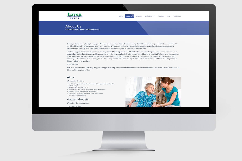 Haven Homecare Mockup 2